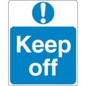 Mandatory Safety Sign - Keep Off 094